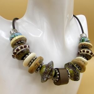 Chicos Earth Necklace